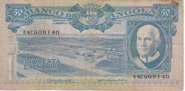 BILLETE DE ANGOLA DE 50 ESCUDOS DEL AÑO 1962 (BANKNOTE) - Angola