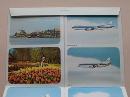 KLM Holland ( Blanco Lettercard ) Anno 19?? : Boeing 747B / DC-10 / DC-8-63 / DC-9 ( Voir / Zie Photo Svp ) ! - 1946-....: Ere Moderne