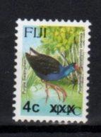 FIJI, MNH, BIRDS, OVERPRINTS, 4c ON 44c - Birds