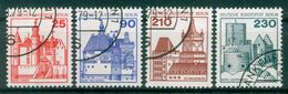 Berlin 1978 / MiNr.  587 – 590   O / Used  (e2106) - [5] Berlin