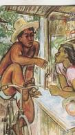 BAVARDAGE SUR LES QUAIS  Penture PF45 1996 - Polynésie Française