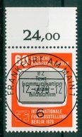 Berlin 1979 / MiNr.   600   O / Used  (e2112) - [5] Berlin