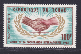TCHAD AERIENS N°   24 ** MNH Neuf Sans Charnière, TB (D7697) Année De La Coopération Internationale - 1965 - Chad (1960-...)