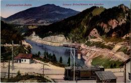 Mariazeller Bahn Stausee Erlaufklause Mit Oetscher - Austria