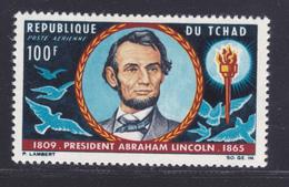 TCHAD AERIENS N°   25 ** MNH Neuf Sans Charnière, TB (D7698) Abraham Lincoln - 1965 - Chad (1960-...)
