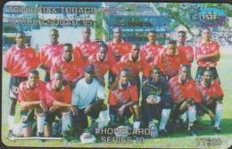 TRINIDAD Et TOBAGO 71CTTB TTS20 SOCCER SQUAD 95 FOOT - Trinidad & Tobago