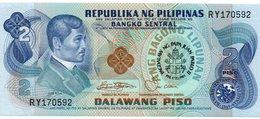 FILIPPINE 2 PISO  1981 P-166 UNC-COMMEMORATIVE GIOVANNI PAOLO II - Filippine