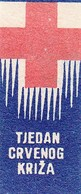 Yugoslavia Label Stamp Red Cross Week , Rotes Kreuz 1949 - Liefdadigheid