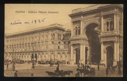 Milano. *Galleria Vittorio Emanuele* Circulada 1916. - Milano (Milan)