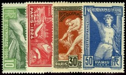 France. Sc #198-201. Set Of Four. Unused. * - France