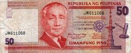 FILIPPINE 50 PISO  2009 P-193 VF - Filippine