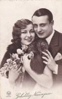 Gelukkig Nieuwjaar, Happy New Year, Romantic Couple (pk50497) - Couples