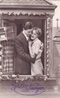 Gelukkig Nieuwjaar, Happy New Year, Romantic Couple (pk50498) - Couples