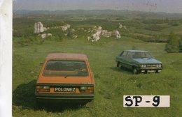 Polonez 1500 SP9  (1993)     -  Manufacturer's Sales Card - CPM - PKW