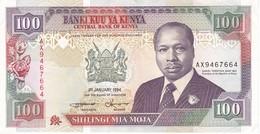 BILLETE DE KENIA DE 100 SHILINGI DEL AÑO 1994 EN CALIDAD EBC (XF) (BANK NOTE) - Kenia
