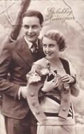 Romantic Couple Romantique, Gelukkig Nieuwjaar, Happy New Year (pk50503) - Couples
