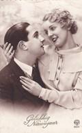 Romantic Couple Romantique, Gelukkig Nieuwjaar, Happy New Year (pk50504) - Couples