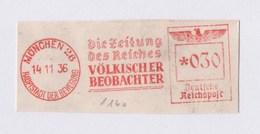 DR AFS - MÜNCHEN, Die Zeitung Des Reiches VÖLKISCHER BEOBACHTER 1936 - Deutschland