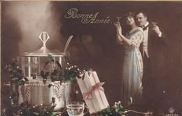 Romantic Couple Romantique, Bonne Année, Happy New Year (pk50506) - Couples