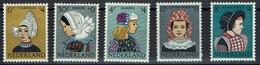 Niederlande Nederland 1960 - Trachten - MiNr 755-759 ** - Kostüme