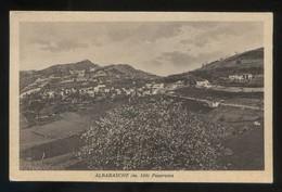 Piemonte. Albarasche. *Panorama* Circulada 1937. - Italia