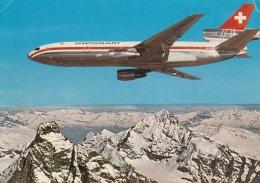 Swissair,DC-10, Gelaufen - 1946-....: Modern Tijdperk