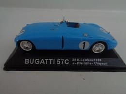 BUGATTI 57 C- Vainqueur 24 H Du Mans 1939- # 1  J-P Wimille- 1/43 -100 Ans De Course Automobile-Altaya - Other