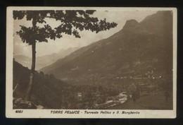 Torre Pellice. *Torrente Pellice E S. Margherita* Circulada 1929. - Otras Ciudades
