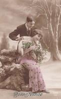 Romantic Couple, Romantique, Bonne Année, Happy New Year (pk50511) - Couples