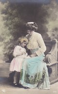 Mother And Little Girl, Fille Et Maman (pk50513) - Couples