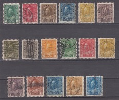 CANADA 1911-25 - King George V - 1911-1935 Règne De George V