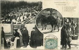 LANGRES La Foire EXAMEN DU CHEVAL, Marchand De MANTES , Marché Ferrailes - Langres