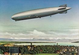 """Zeppelin,Luftschiff LZ 127 """"Graf Zeppelin"""",Repro 7-75 Ungelaufen - Dirigibili"""