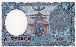 NEPAL 1 MOHRU 1951 P-1b  UNC - Nepal