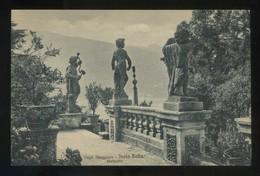 Lago Maggiore. *Isola Bella. Statuette* Ed. Brunner & C. Nº 18067. Nueva. - Otras Ciudades