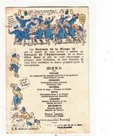 CPA- Humour Militaire- Le MENU - War 1914-18
