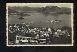 Lago Maggiore. *Stresa Isole Borromee* Circulada 1956. - Otras Ciudades