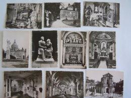 France Lisieux Souvenir Du Pèlerinage Près De Sainte Thérèse De L'Enfant-Jésus Pochette De 10 Vues Photos  9 X 6 Cm - Places