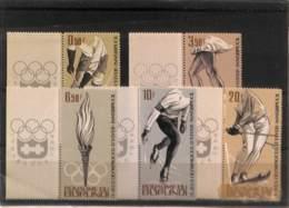 NB - [111620]Burundi 1964 -  Hockey (Sur Gazon), Patinage Artistique, Ski, Sports - Winter 1964: Innsbruck
