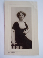 Nina Sevenng Actress Carte Glacée Edit Rotary Photographic Boudoir Plate Sunk Series  Circulée Gelopen 1909 - Théâtre