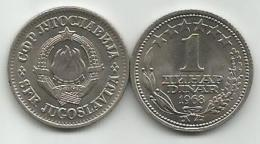 Yugoslavia 1 Dinar 1968.  KM#48 High Grade - Yugoslavia