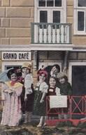 CPA Children, Drinking In A Pub, Enfants Sur Terrasse Du Bar (pk50528) - Scènes & Paysages