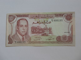 10 Dirhams 1970-1390 Maroc - Banque Du Maroc  **** EN ACHAT IMMEDIAT **** - Marokko