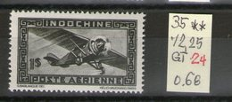 PA N 35**_Gomme Tropicale - Indochine (1889-1945)