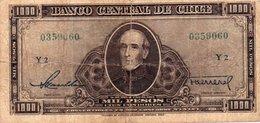 CILE 1000 PESOS 1947 P-116 - Cile