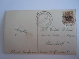 Belgie Belgique  Turnhout Censuur Stempel Cachet Gepruft Postuberwachungsstelle Turnhout - WW I