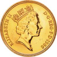 Monnaie, Grande-Bretagne, Elizabeth II, 2 Pence, 1986, FDC, Bronze, KM:936 - 1971-… : Monnaies Décimales