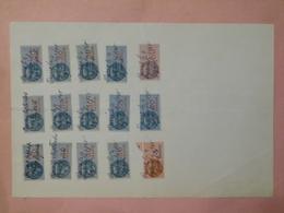 Reçu Créance Succession Par Me JOBARD (PARIS 1er) Du 04 Septembre 1948 Avec Au Dos, 15 Timbres Fiscaux Série Unifiée - Revenue Stamps