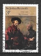 1973 3p Joshua Reynolds, Used - Used Stamps