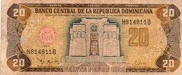 REP.DOMINICANA 20 PESO ORO 1997  P-154 - Repubblica Dominicana